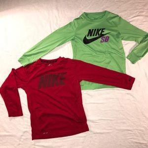 Nike Long Sleeve shirts